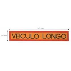 Placa refletora «VEÍCULO LONGO» MOD4 grande