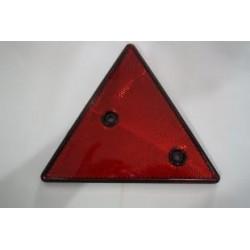 Triângulo refletor pequeno plástico sem orla