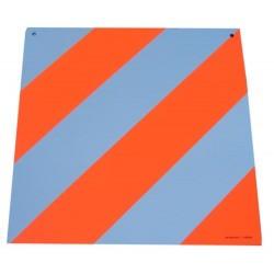 Placa limite carga frente/trás P2