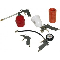Kit pistolas pintura 5 pcs (copo superior)
