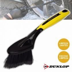 Escova limpeza jantes Dunlop