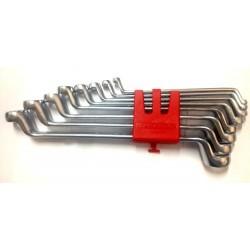 Jogo 8 chaves estrias 6-22 mm Izeltas