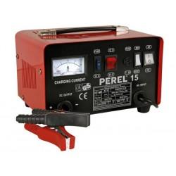 Carregador bateria Perel 12/24V c/boost 9A