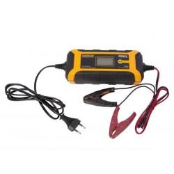 Carregador bateria Perel 12/24V 4Ah IP65