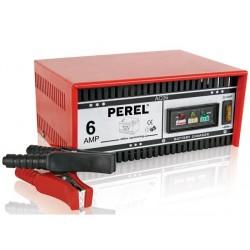 Carregador bateria Perel 12/24V 6A