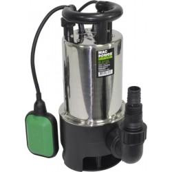 Bomba submersível águas sujas 900W Inox