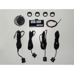 Kit sensor estacionamento c/aviso sonoro 4 células 22mm
