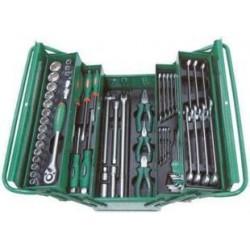 Caixa ferramenta metálica 62 pcs