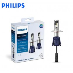 Kit lâmpadas 12V H4 17W 6000K LED Philips