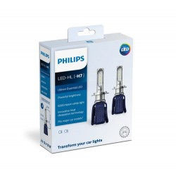 Kit lâmpadas 12V H7 16W 6000K LED Philips
