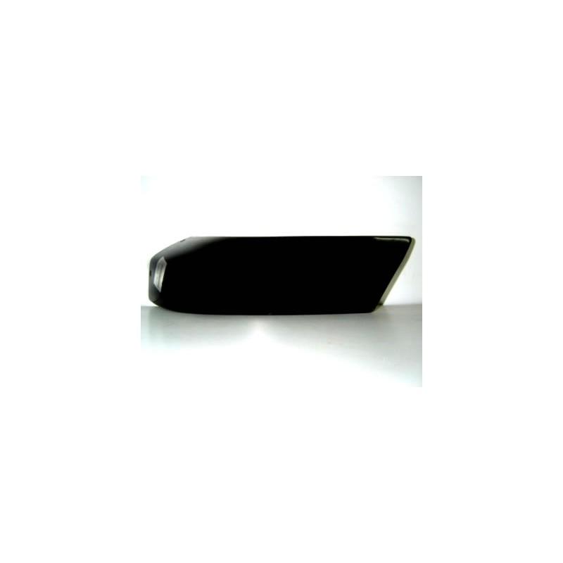 Canto p.choques Nissan D22 97-01 frente esquerdo preto
