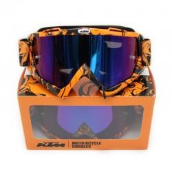 Óculos p/capacete motocross KTM