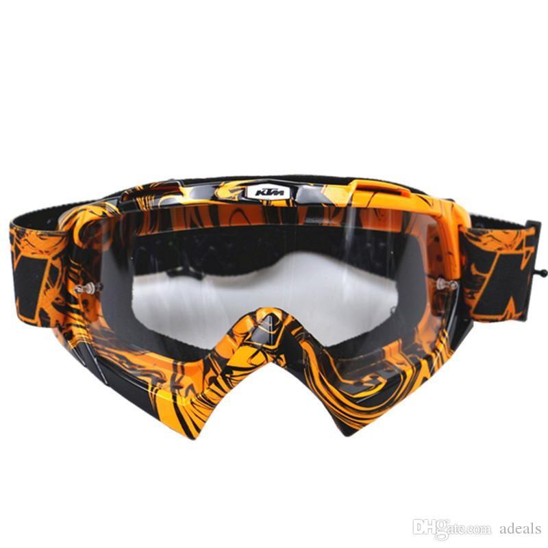 Óculos p/capacete motocross KTM lente transparente