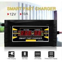 Carregador bateria 12V 10AH automático