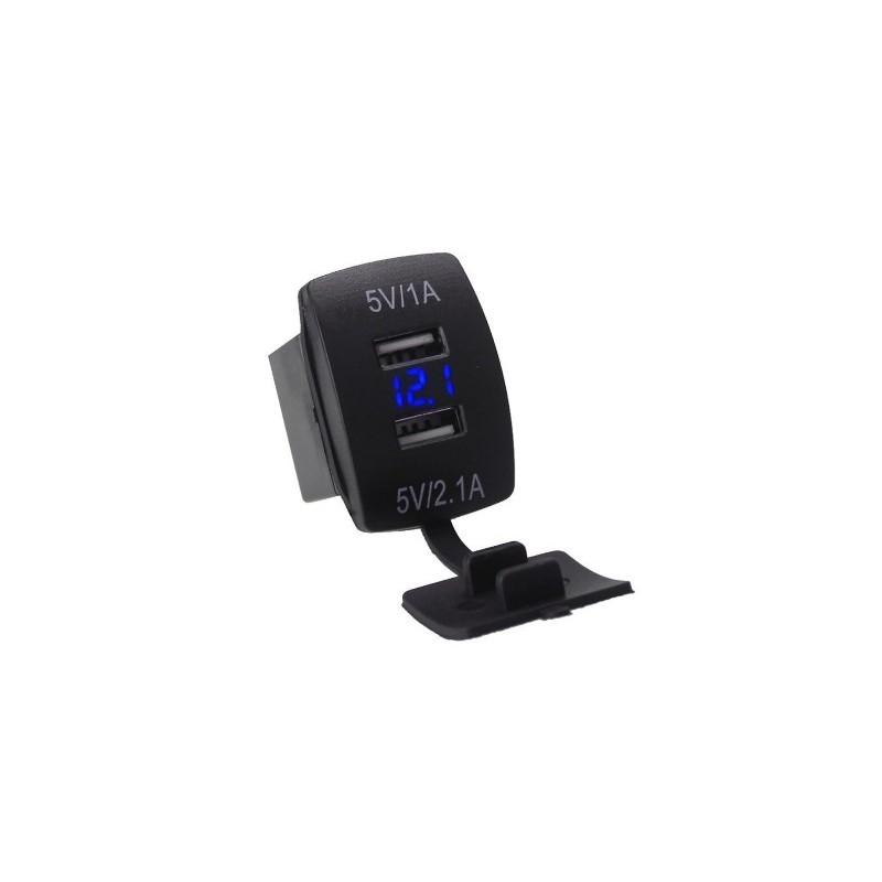 Carregador USB universal 2 saídas 1/2.1Ah
