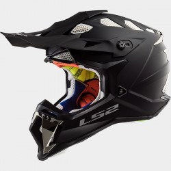 Capacete motocross LS2 MX470 SUBVERTER - PRETO MATE