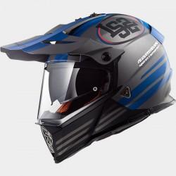 Capacete motocross LS2 PIONEER MX436 Quarteback