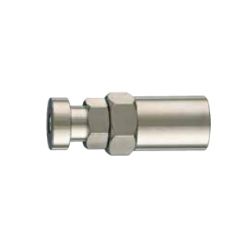 Acessório ar comprimido engate macho 1/4'' - tubo 8mm c/mola
