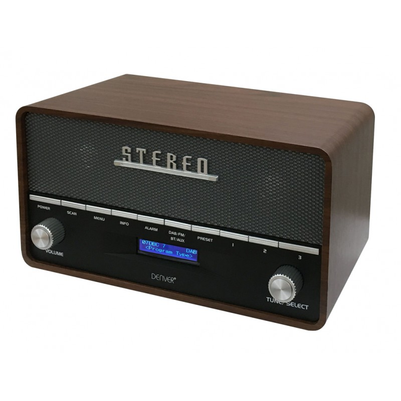 RADIO BLUETOOTH AM/FMPPL/AUX/MP3 VINTAGE