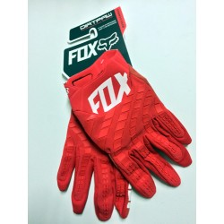 Luvas motocross Fox Dirtpaw vermelhas