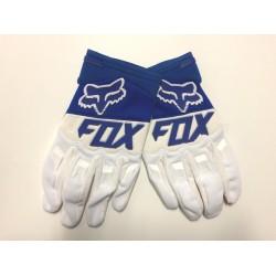 Luvas motocross Fox Dirtpaw azul-branco