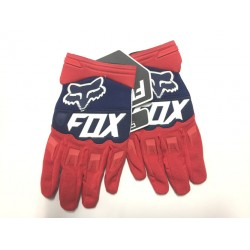 Luvas motocross FOX vermelho-azul