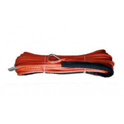 Corda sintética guincho 12mmX25MT vermelha