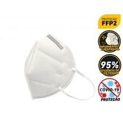 Máscara descartável KN95 FFP2