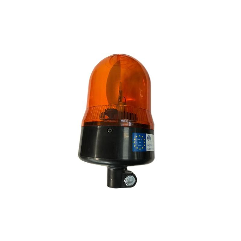 Pirilampo rotativo 12V c/base p/tubo