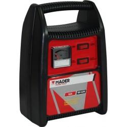Carregador bateria 12V-6V 12Ah Mader