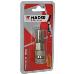 Tomada ar engate rápido fêmea p/tubo 6mm