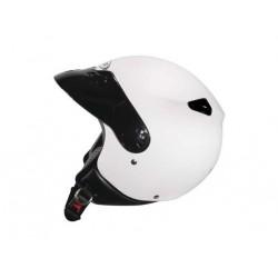 Capacete moto Zeus HZ210 com pala branco