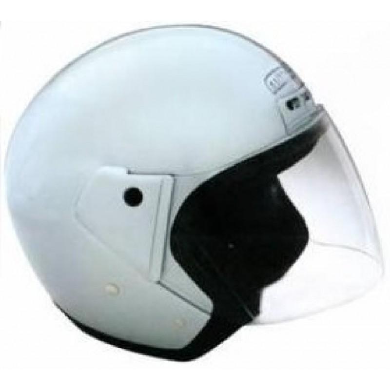 Capacete moto Mitaka H200 com viseira cinzento