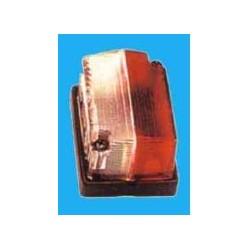 Farolim limitador quadrado branco c/pendura 63x42mm