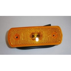 Farolim limitador retangular amarelo c/pendura