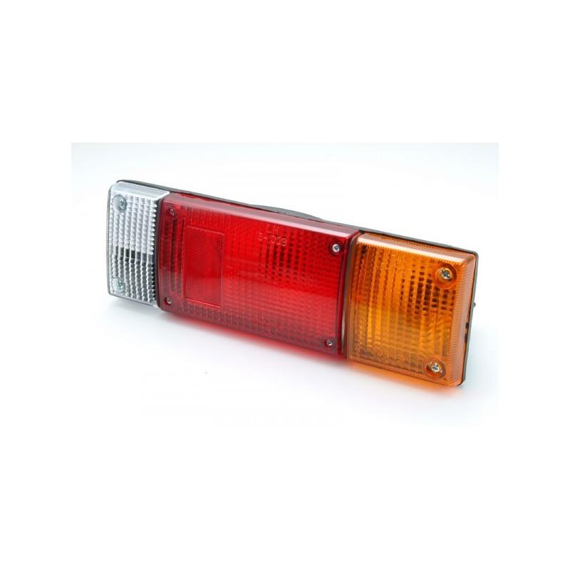Vidro farolim Nissan D21/D22 85- trás esquerdo/direito