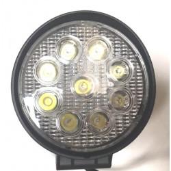 Farol trabalho LED 12-24V IP68 125mm