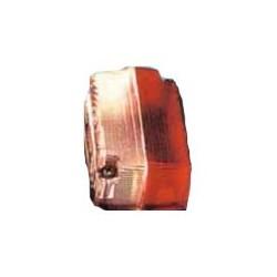 Vidro de farolim limitador vermelho-amarelo