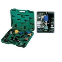 Kit teste pressão radiadores universal