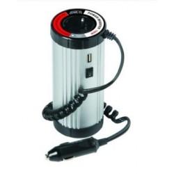 Transformador de corrente 12V-220V 150W c/USB