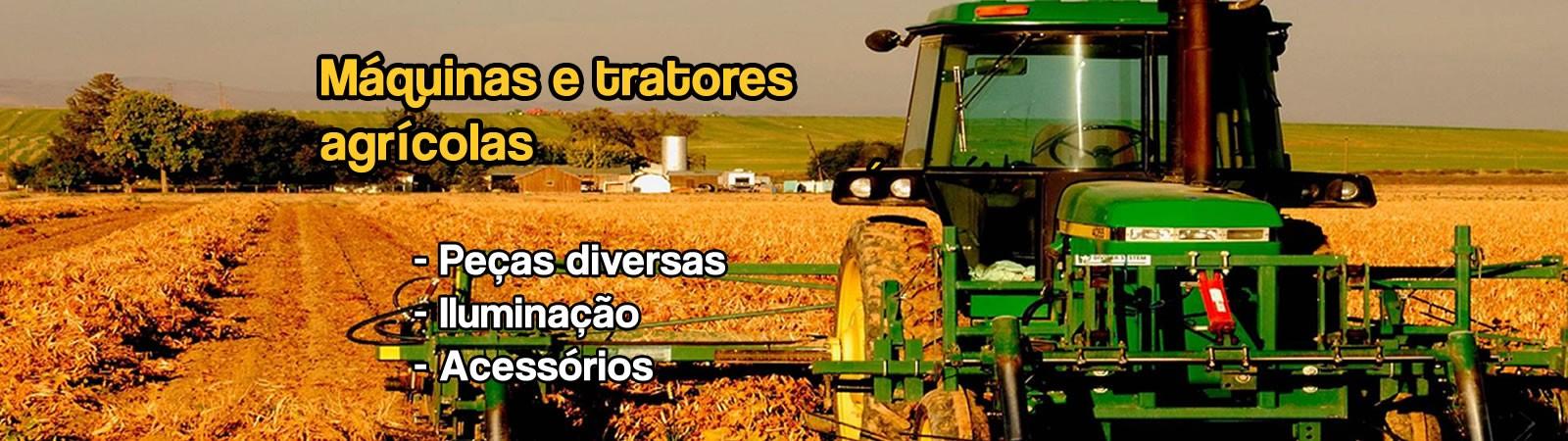 Peças para máquinas agrícolas e industriais